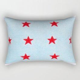 Union Mediterraneenne flag Rectangular Pillow