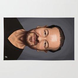 Celebrity Sunday ~ Ricky Gervais Rug
