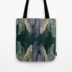 nature black Tote Bag