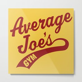 Average Joes Dodgeball Metal Print