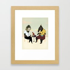 You Will Always Have Me Framed Art Print