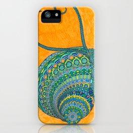 Swirly Snail iPhone Case