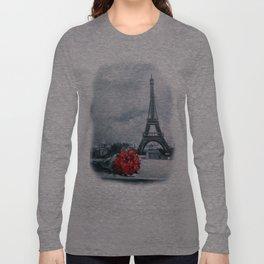 Bouquet for Parisienne Long Sleeve T-shirt