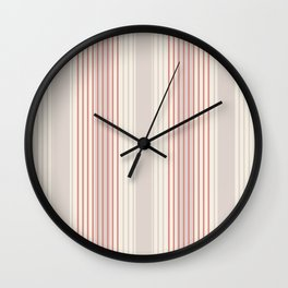 Minimal Abstract Cozy Cottage 11 Wall Clock