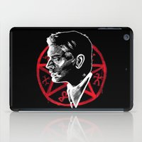 supernatural iPad Cases featuring Supernatural by Grace Mutton