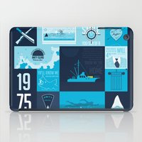jaws iPad Cases featuring Jaws! by tim weakland