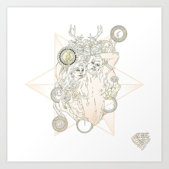 T E N//A2 Art Print