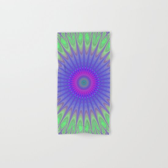 Cold mandala Hand & Bath Towel