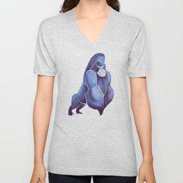 Gorilla Unisex V-Neck