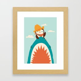Yeehaw! Framed Art Print