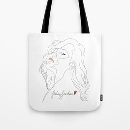 Feeling Fearless Tote Bag