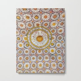 Lotus Wall Metal Print