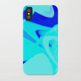 Aqua State iPhone Case