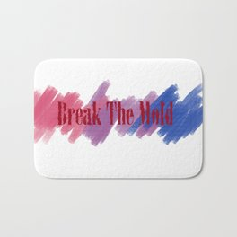 Break The Mold - Bi Pride Bath Mat