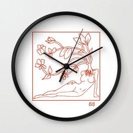 At Dawn We Grow, Red Wall Clock