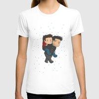 sterek T-shirts featuring Sterek Piggyback by agartaart