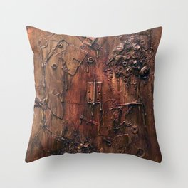 Exploded Throw Pillow
