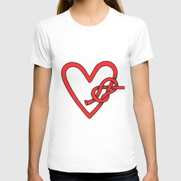 knot in love T-shirt