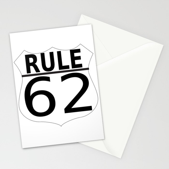 Rule 62 Stationery Cards