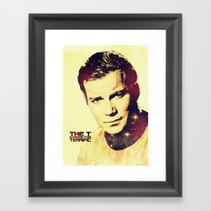 Oh Captain, My Captain Framed Art Print