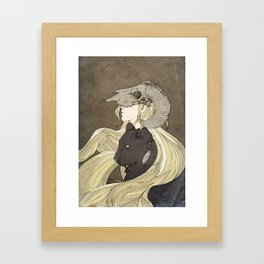 Dreamcatcher- looking ahead Framed Art Print