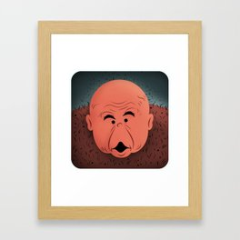 "George ""The Animal"" Steele Framed Art Print"