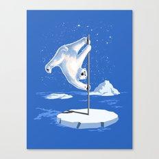 North Pole Dancer Canvas Print