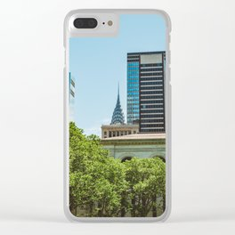 Bryant Park III Clear iPhone Case