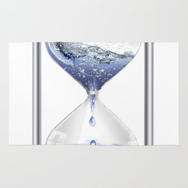 time water movement drop of water Rug