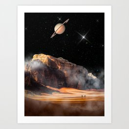A Quiet Night Art Print