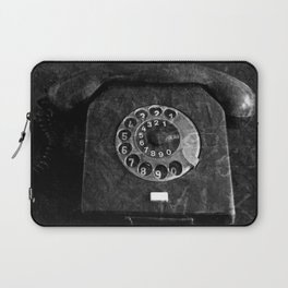 RFT phone, black and white photography Laptop Sleeve