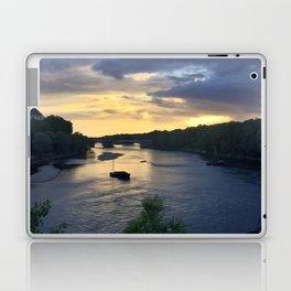 Sunset Sailing on the Loire Laptop & iPad Skin
