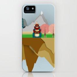 Floating Islands V iPhone Case