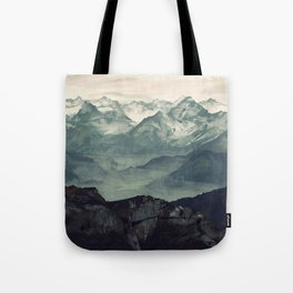 Mountain Fog Tote Bag