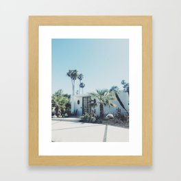 Palm Springs, Via Estrella Framed Art Print