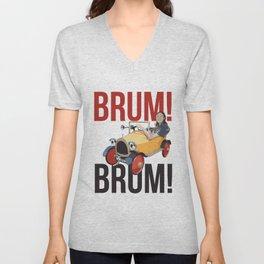 Brum Brum Unisex V-Neck