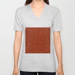 Red Brick Efect Background Unisex V-Neck