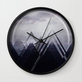 Fractions B25 Wall Clock