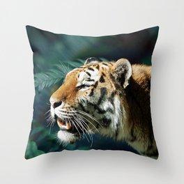 Save The Tiger #society6 #buyart #lifestyle #cause Throw Pillow