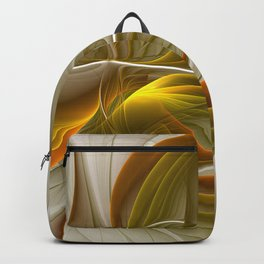 Abstract With Colors Of Precious Metals 2 Backpack