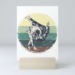 Retro Judoka Mini Art Print