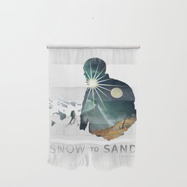 """Snow To Sand"" Official One-Sheet Poster Wall Hanging"