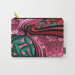 Floral Unity Carry-All Pouch