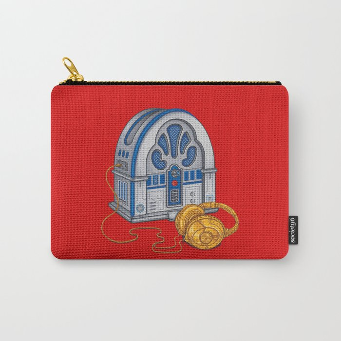 Beats by Droid - Recycled Future Carry-All Pouch