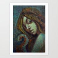 Despina Art Print