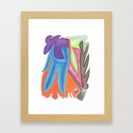 Drawing #85 Framed Art Print
