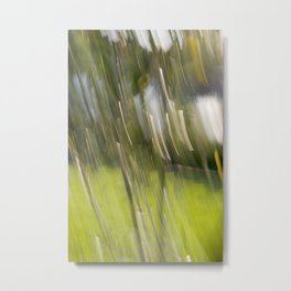 Light Forest Abstract Metal Print
