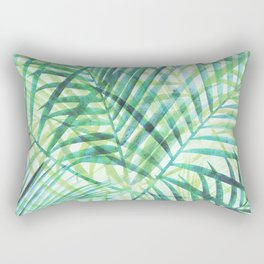 Tropical Greenery III Rectangular Pillow