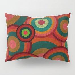 """Retro Colorful Circles"" Pillow Sham"