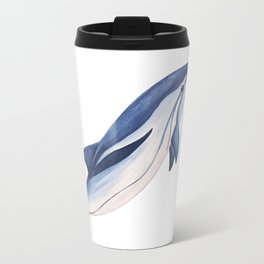 Striped baby dolphin Metal Travel Mug